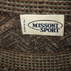 80'S Vintage Missoni Sport sweater. Size XL